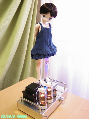 PARABOX Pちゃん40cm&真空管アンプ