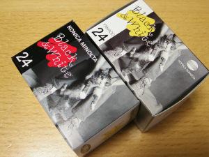 にゃんこパッケージのコニカパン400