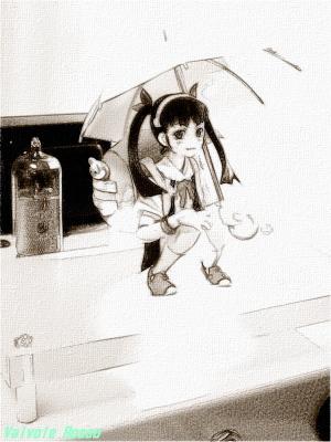 マックスファクトリー figma 八九寺真宵 鉛筆画