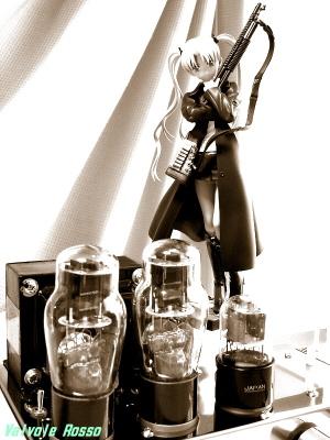 グッスマ GUNSLINGER GIRL トリエラ モノクロ写真