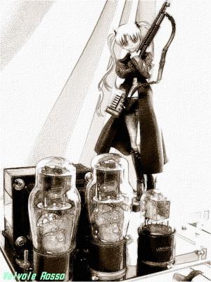グッスマ GUNSLINGER GIRL トリエラ 鉛筆スケッチ画