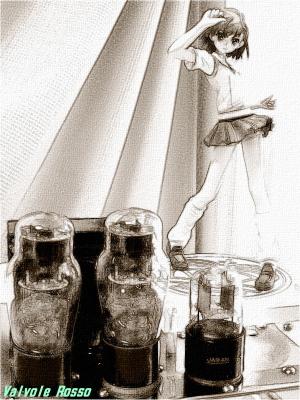 グッドスマイルカンパニー 御坂美琴 鉛筆スケッチ画
