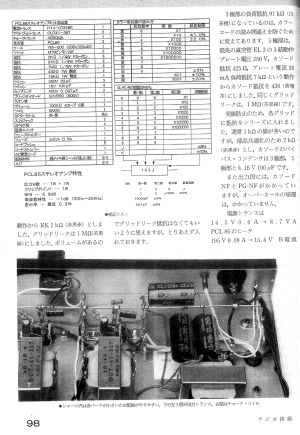 長島氏設計/春日無線のPCL86アンプ(旧バージョン)02