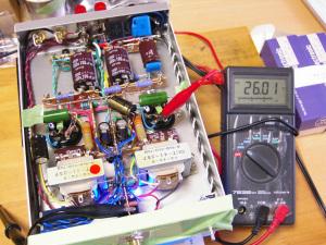 NEW 6DJ8-1626アンプ 出力段1626バイアス電圧