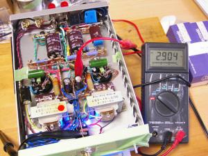 NEW 6DJ8-1626アンプ 初段6922バイアス電圧