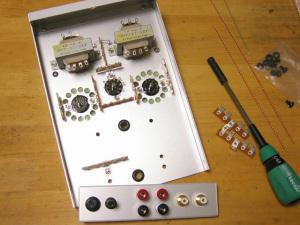 6P15Pアンプを製作中。。。