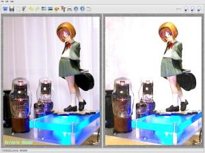 グッスマ ヘンリエッタ FotoSketcher V2.10で水彩画に加工