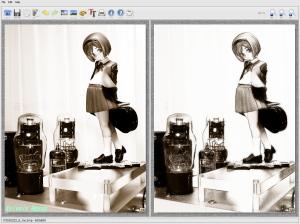 グッスマ ヘンリエッタ FotoSketcher V2.10で鉛筆スケッチ画に加工