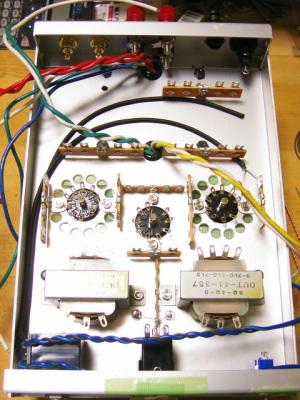 6N3PE-6P15PEVシングルアンプのハンダ付け準備