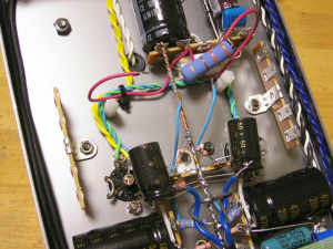 ハイブリッドμフォロワE90CC零号機改修作業(4)