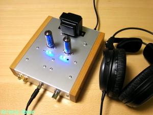 2007年3月 春日無線19AQ5ヘッドフォンアンプ・キット製作