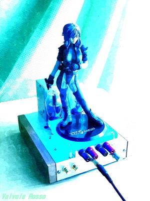 アルター製 攻殻機動隊 草薙素子 FotoSketcher水彩画バージョン
