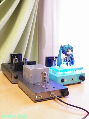 ヘッドフォンアンプ各機種と聴き比べ