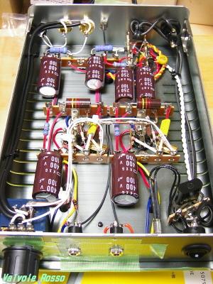 春日無線6DJ8ヘッドフォン内部配線