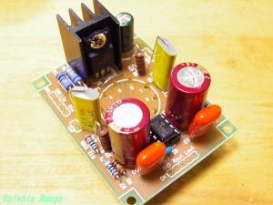 基板(TIC-1)使用のYAHAヘッドフォンアンプ