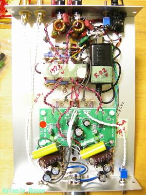 19AQ5ヘッドフォンアンプ+秋月D級1Wアンプ