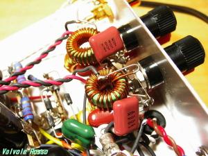 D級アンプ-アウトプット LPF(ローパスフィルター)