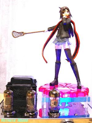 6N2P-EL91シングル コトブキヤ 夜桜四重奏 ヨザクラカルテット 槍桜ヒメ 水彩画