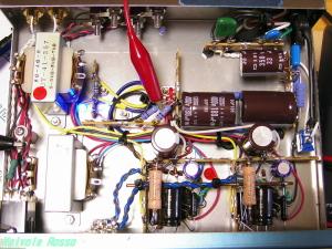 PCL86アンプ 内部レイアウト