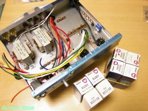 EAC91-EL821シングルアンプ製作