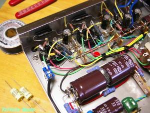 6N2PEV-EL32シングルアンプ 手直し作業