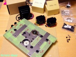 6922-5687シングルアンプ 製作中。。。