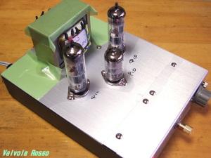 6RHH2-PCL86シングルアンプ