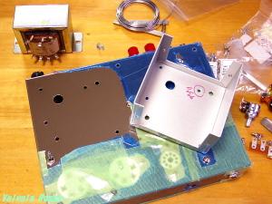 タカチMB-31ケースを流用した電源トランスケース