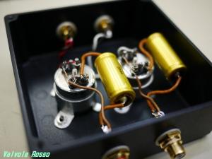 タムラTHS-10(?) と ジャンセン錫箔オイルコン