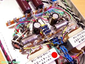 入力カップリングと、NFBが付いた実験機でした。