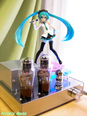 6DJ8-1626 Single Ended Amplifier (Tube Headphone Amplifier) Good Smile Company 1/8 Scale figure Miku Hatsune: Lat-type Ver.