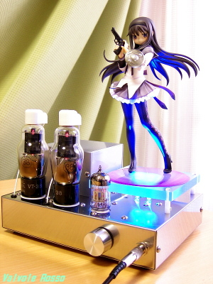 6N2P-38 Single Ended Amplifier (Tube Headphone Amplifier) Good Smile Company 1/8th scale figure Madoka Magica Homura Akemi