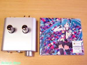 WE408A hybrid Headphone Amplifier & Tell Your World EP(初回限定盤)(DVD付) [CD+DVD, Limited Edition]