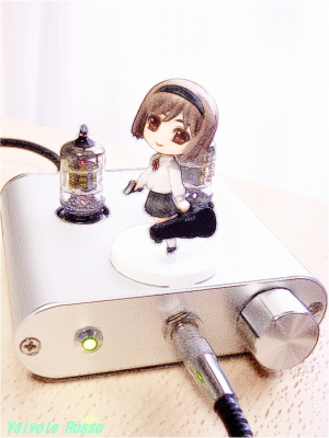 WE408A hybrid Headphone Amplifier (Tube Headphone Amplifier) & Toys Works Collection 2.5  GUNSLINGER GIRL Henrietta Pre-Painted PVC Trading Figure FotoSketcher Ver.2.10 COLOR PENCIL