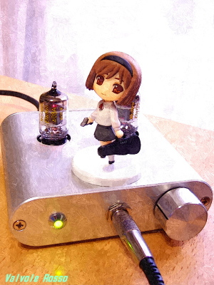 WE408A hybrid Headphone Amplifier (Tube Headphone Amplifier) & Toys Works Collection 2.5  GUNSLINGER GIRL Henrietta Pre-Painted PVC Trading Figure FotoSketcher Ver.2.10 OIL PAINTING