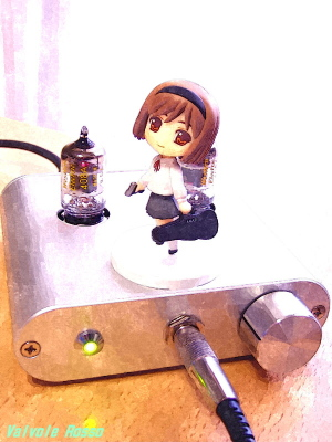 WE408A hybrid Headphone Amplifier (Tube Headphone Amplifier) & Toys Works Collection 2.5  GUNSLINGER GIRL Henrietta Pre-Painted PVC Trading Figure FotoSketcher Ver.2.10 WATER PAINTING