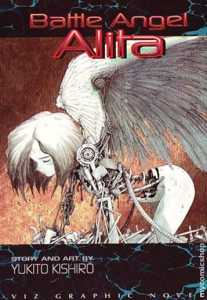 (C)木城ゆきと 銃夢  Yukito Kishiro battle angel alita