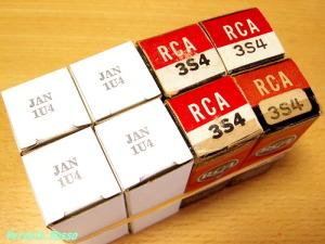 SYLVANIA 1U4 & RCA 3S4
