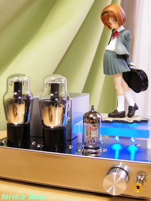 6N2PEV-6G6G Single Ended Amplifier (Tube Headphone Amplifier) Good Smile Company 1/8 Scale Pre-painted PVC Figure GUNSLINGER GIRL Henrietta