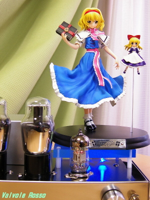 6N2PEV-6G6G Single Ended Amplifier (Tube Headphone Amplifier) Griffon Enterprises 1/8 Scale Pre-painted PVC Figure Touhou Project Alice Margatroid