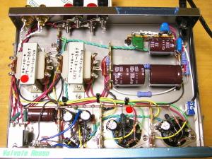 12AX7-EL32 Single Ended Amplifier (Tube Headphone Amplifier)