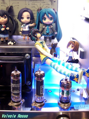 12AT7-A2134(CV4062)-6X4 Single Ended Amplifier (Tube Headphone Amplifier) PLUM 1/8 Scale Pre-painted PVC Figure PARA-SOL Miu Yatabe
