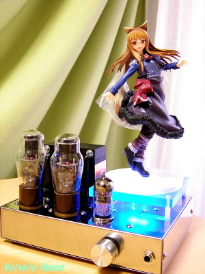 12AX7-1626 Single Ended Amplifier (Tube Headphone Amplifier) Good Smile Company 1/8 Scale Pre-Painted PVC Figure Spice and Wolf Holo