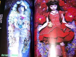 創作市場〈14〉 続・人形に遊ぶ 恋月姫 『金魚姫の図 1999』 『未央 1994』