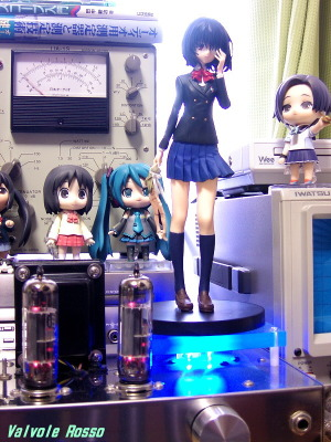 PCL86 Single Ended Amplifier (Tube Headphone Amplifier) SEGA Premium Prize Pre-painted PVC Figure Another Mei Misaki