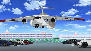 『ガールズ&パンツァー』第二話から 川崎重工業XC-2