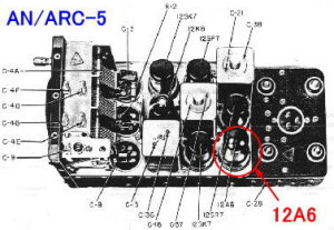 AN/ARC-5 Receivers 12A6