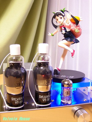 6N2PEV-38 Single Ended Amplifier (Tube Headphone Amplifier) SEGA High Grade Prize Pre-painted PVC Figure Bakemonogatari Mayoi Hachikuji