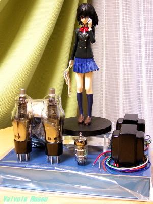 次世代フィギュア真空管アンプのレイアウトを検討中