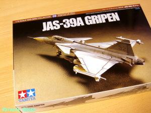 タミヤ 1/72 ウォーバードコレクション JAS-39グリペン